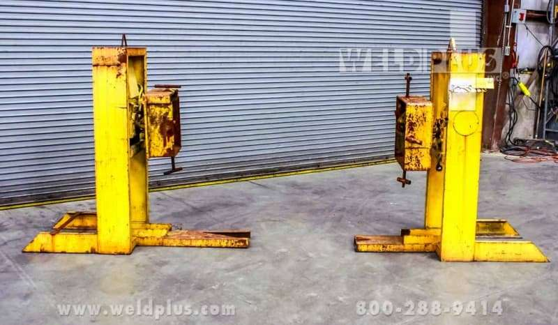 2,000 lb. Ardmore Beam Headstock Tailstock