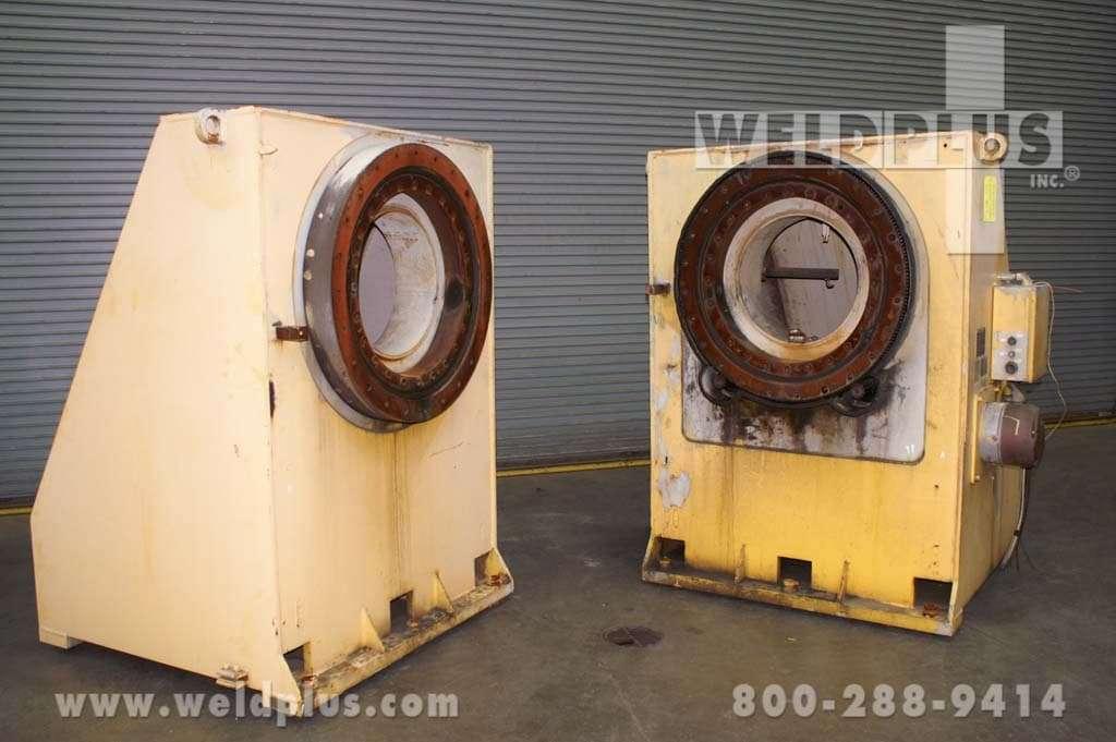 40,000 lb. HTS40 Aronson Headstock Tailstock