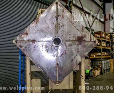 32000 lb Ransome Welding Headstock Tailstock