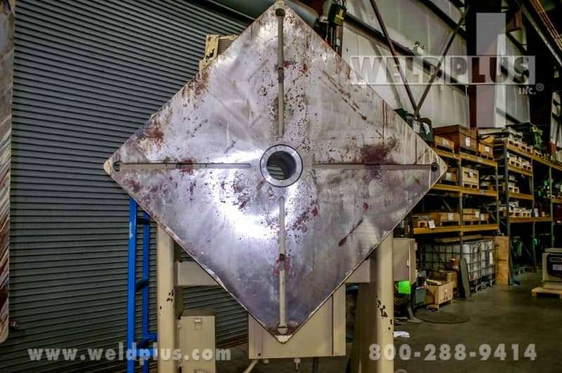 32,000 lb. Ransome Welding Headstock Tailstock