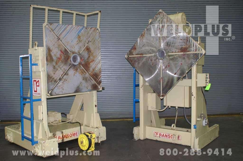 32,000 lb. Ransome Welding Headstock Tailstock