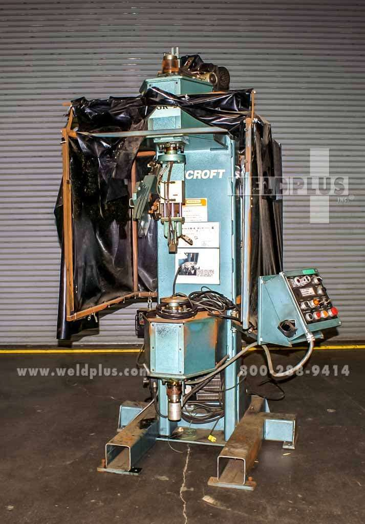 Bancroft Used Vertical Welding Lathe