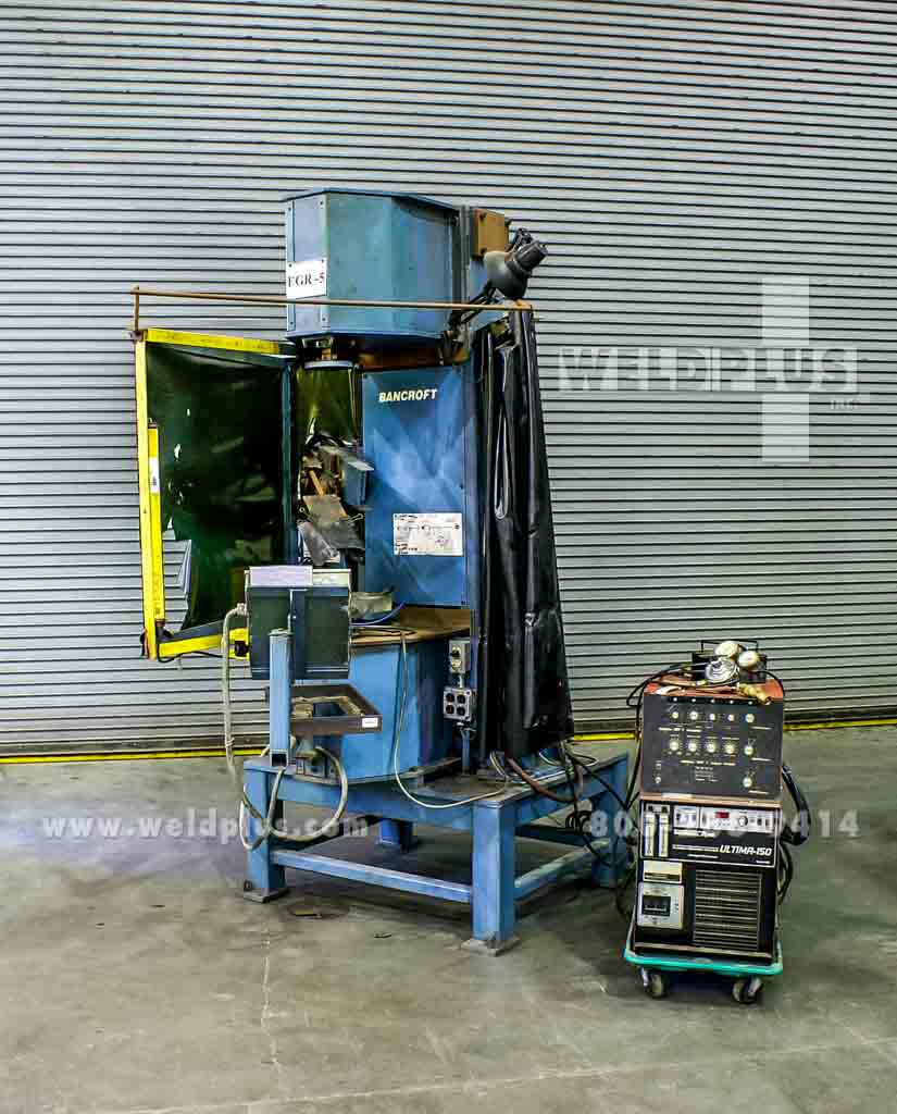 Vertical Welding Lathe by Bancroft