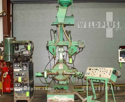 Wolff MFG Dual Head Welding Lathe