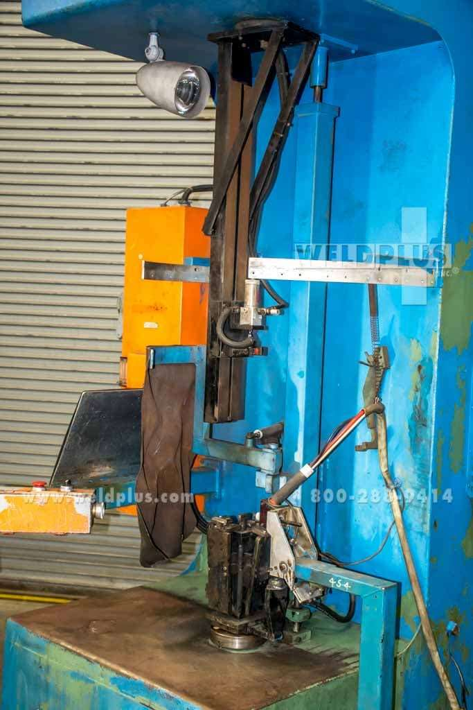 Edron Vertical Tig Welding Lathe