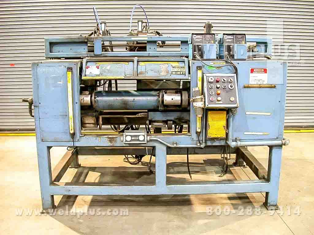 High Capacity Dual Torch Welding Lathe