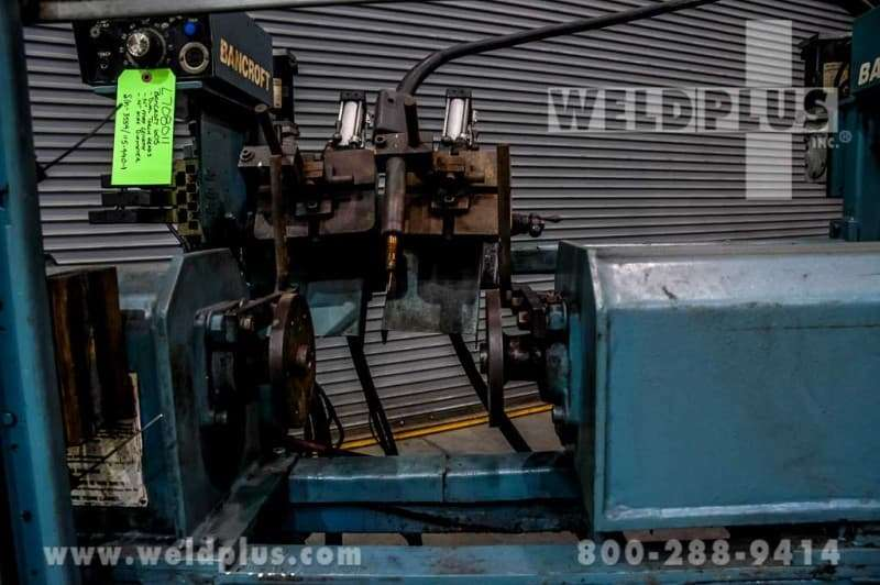 Dual Head Girth Welding Lathe – Bancroft