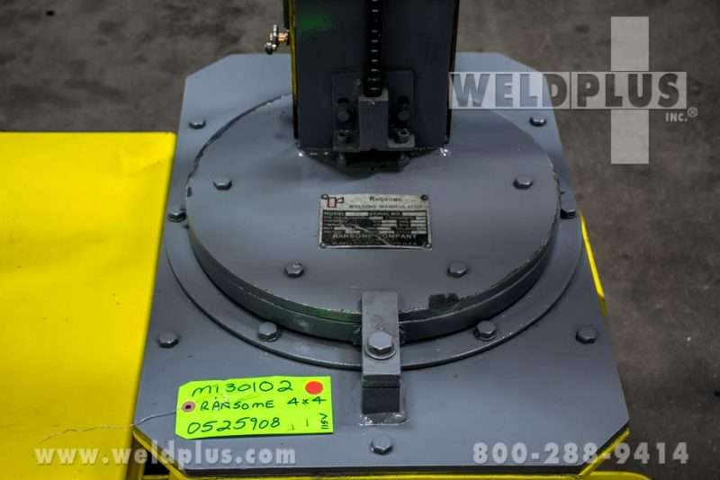 Ransome 4×4 Torch Positioner