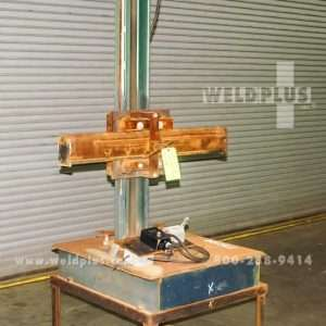 4 x 2 ft. Capital Welding Manipulator On Travel Car