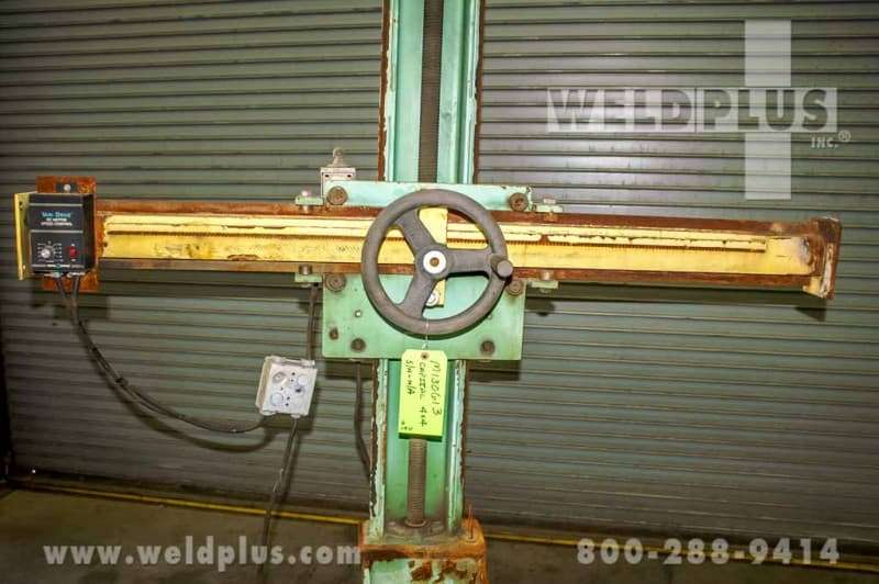 4 x 4 Capital Weld Manipulator Including Travel Car