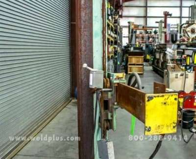 4x4 Capital Weld Manipulator Including Travel Car