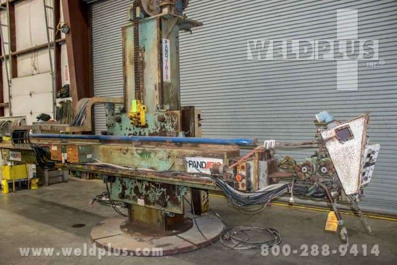 4 x 10 ft. Pandjiris Low Profile Weld Manipulator