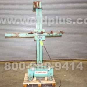 4 x 4 ft. Ransome Weld Manipulator with Travel Car
