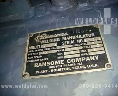 4x8 ft Ransome Manipulator Travel Car