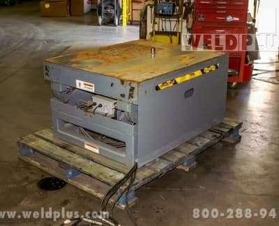 5000 LB Pentalift Hydraulic Lift Table