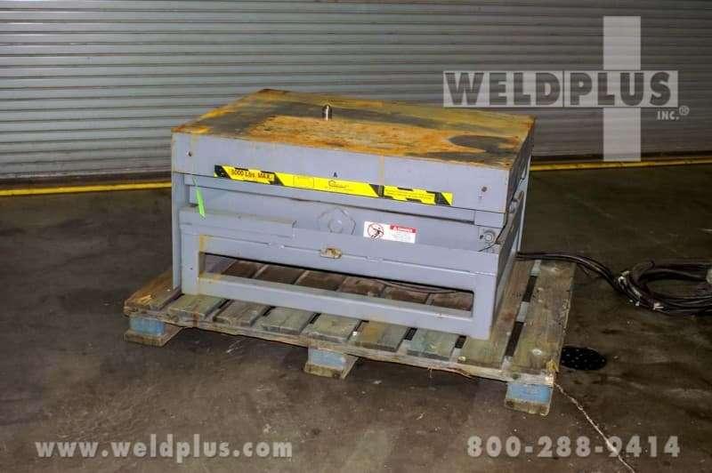 5,000 lb. Pentalift Hydraulic Lift Table