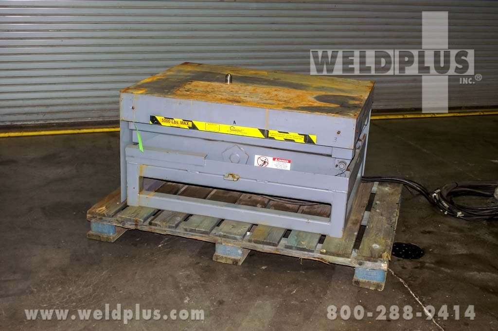 5,000 lb. Pentalift Hydraulic Lift Table