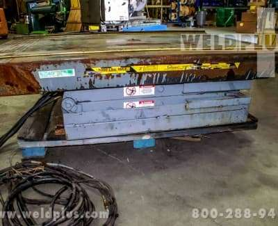 5000 LB Pentalift Hydraulic Lift Table
