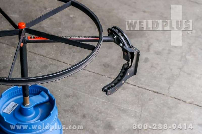 Weldmatic Wooden Wire Reel Dispenser