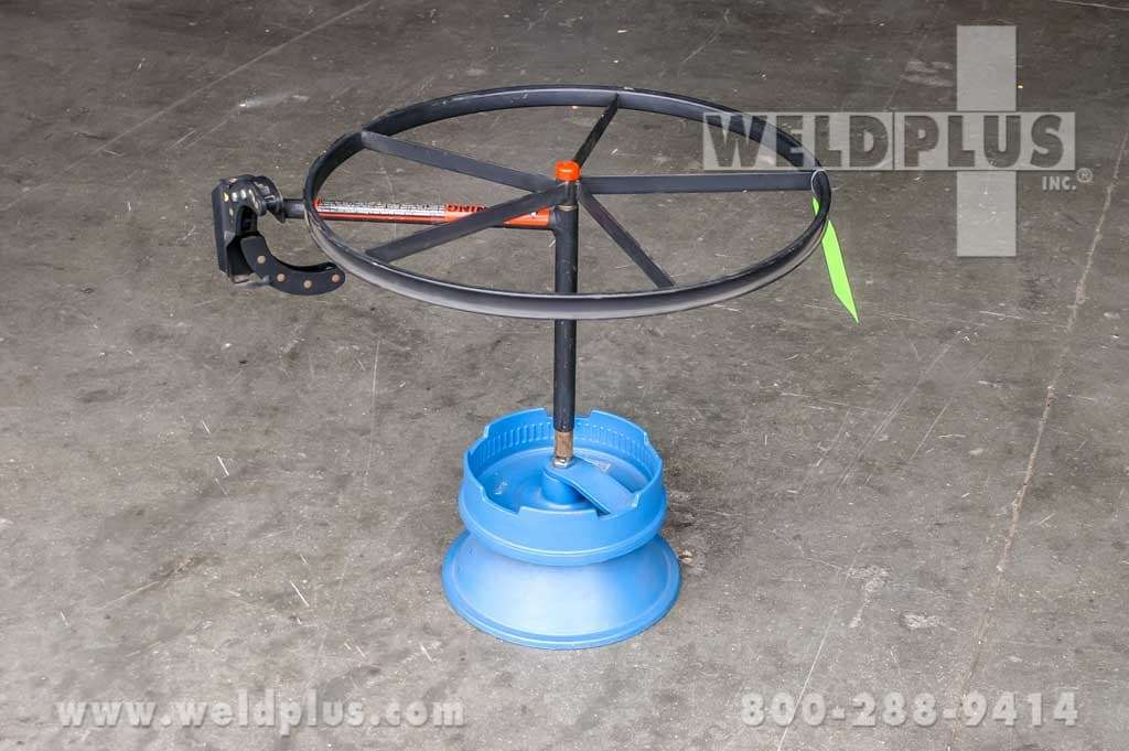 Weldmatic Wooden Wire Reel Dispenser
