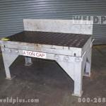 30x60 Inch Used Welding Platen Table