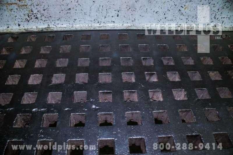 30×60 Inch Used Welding Platen Table
