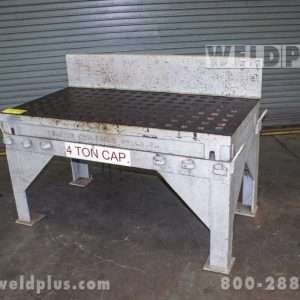30×60 Inch Used Welding Platen Table