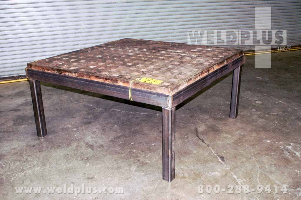 5x5 Ft Acorn Welding Platen Table With Stand