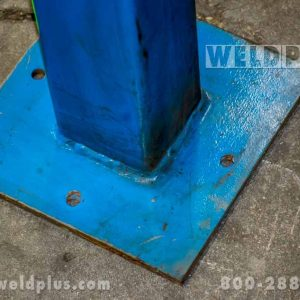 Fume Extraction Hose Mounting Stanchion