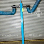 Levco Fume Exhaust Hose Mounting Stanchion