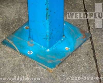 8 ft Welding Fume Exhaust Hose Stanchion