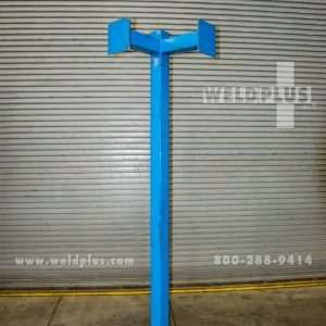 8 ft. Welding Fume Exhaust Hose Stanchion