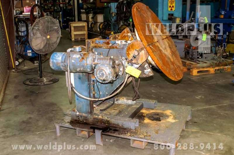 2,500 lb. Used Welding Positioner by Sciaky