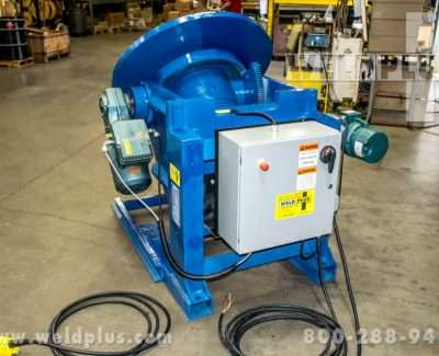 2500 lb Used Welding Positioner