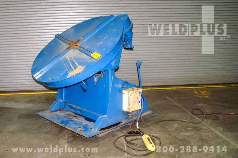 4,000 lb. Arborfer Hydraulic Weld Positioner