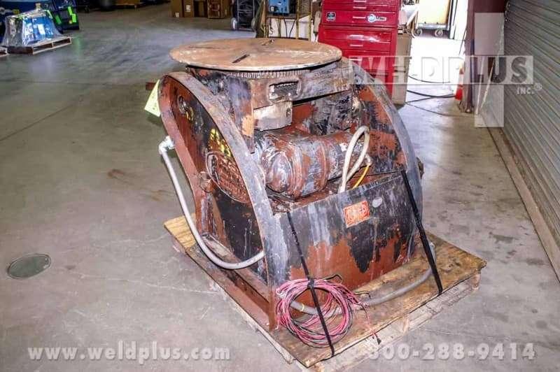2,500 lb. Positioner Reed Webb Model P25R