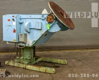 4500 lb GE Used Aronson Weld Positioner
