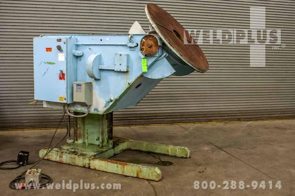 4,500 lb. GE Used Aronson Weld Positioner
