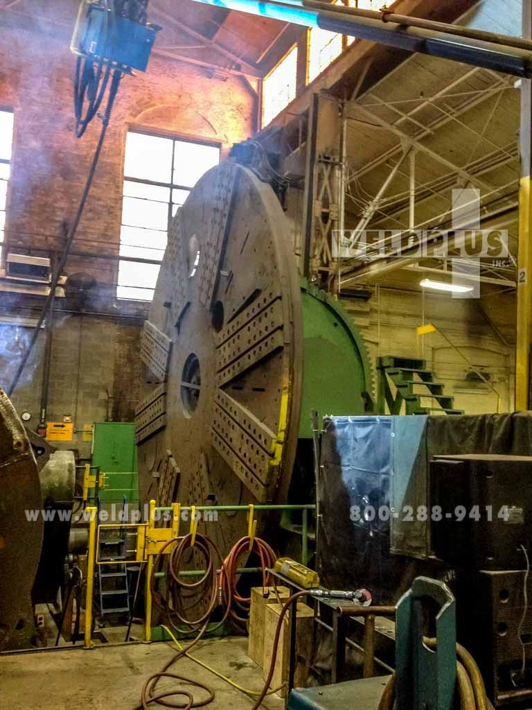 150,000 lb. Jennings Used Weld Positioner