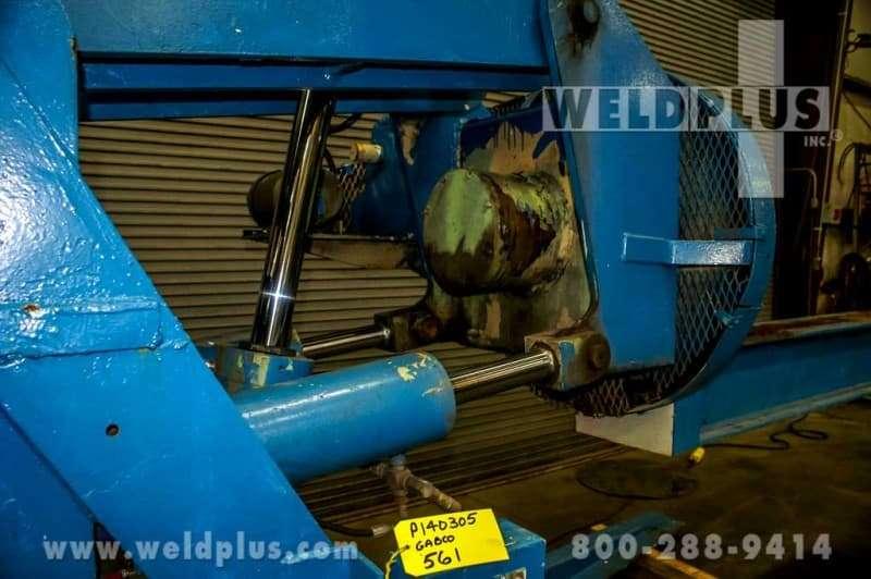 16,000 lb. Gabco Hydraulic Beam Positioner
