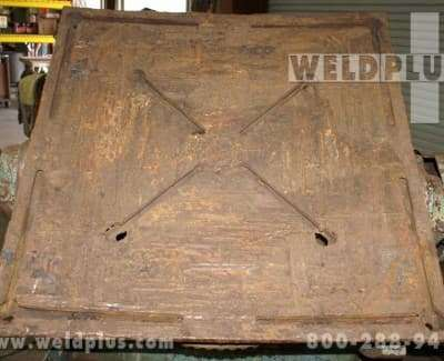 6000 lb Used Ransome Weld Positioner