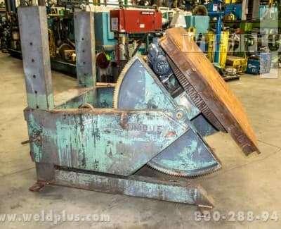 Unique Model UPC100 10000 lb Positioner
