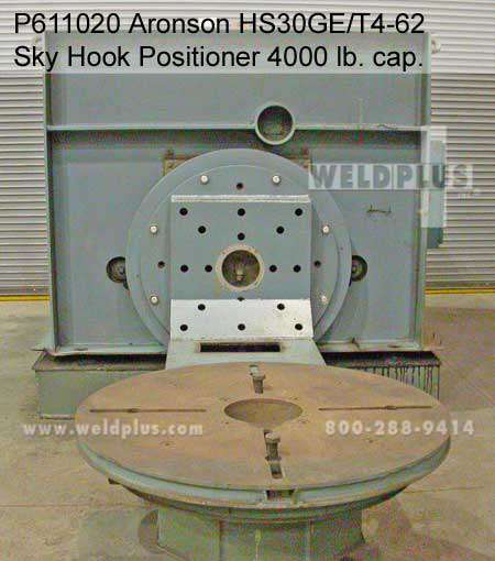 4,000 lb. Sky-Hook Aronson Used Positioner