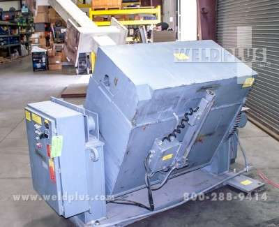 7000 lb Used Aronson Tilter Positioner