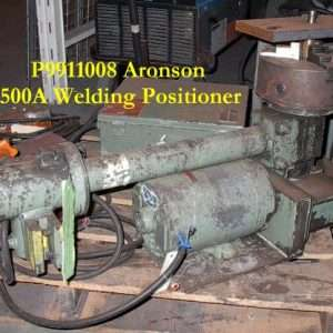 500 lb Used Weld Positioner Aronson BT500A