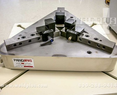 Pandjiris Quickset Pipe Gripper Welding Chuck
