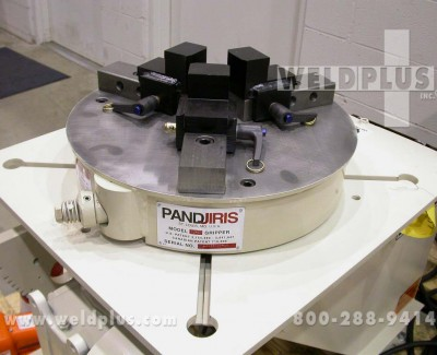 TJ 20 Pandjiris Quickset Gripper Pipe Chuck