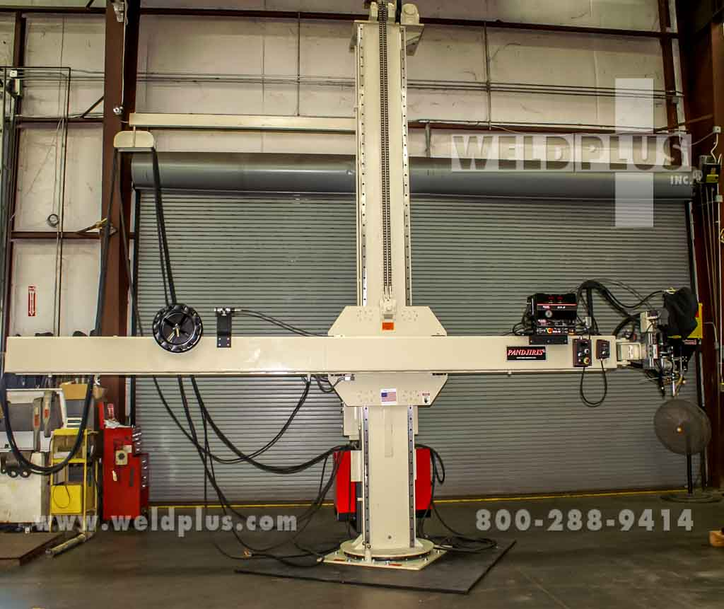 14 x 14 ft Pandjiris Column and Boom Weld Manipulator