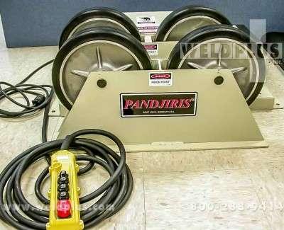 4000 lb Pandjiris Piper 3 Turning Rolls