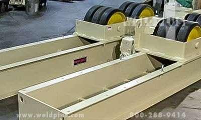 120000 LB Pandjiris Tank Turning Rolls